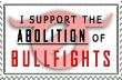 Bullfighting aboliton Stamp by whenSmyledoesnttalk