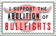 Bullfighting aboliton Stamp by whenSmyledoesnttalk