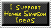 I support Homer Simpson Ideas by whenSmyledoesnttalk