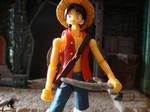 One Piece - Luffy S.H. figuarts by stopmotionOSkun