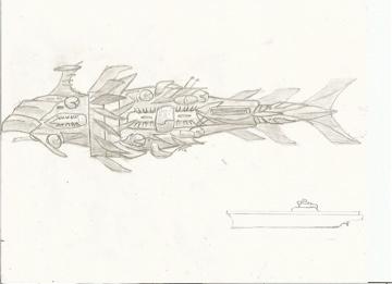 Thunderhead carrier ship by sirdubdub
