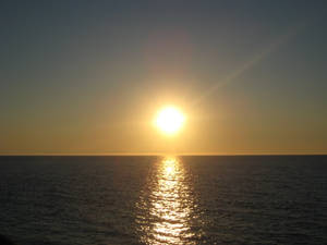 Sunset on the Sea of Japan