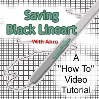 How To - Saving Black Lineart by Ahr0