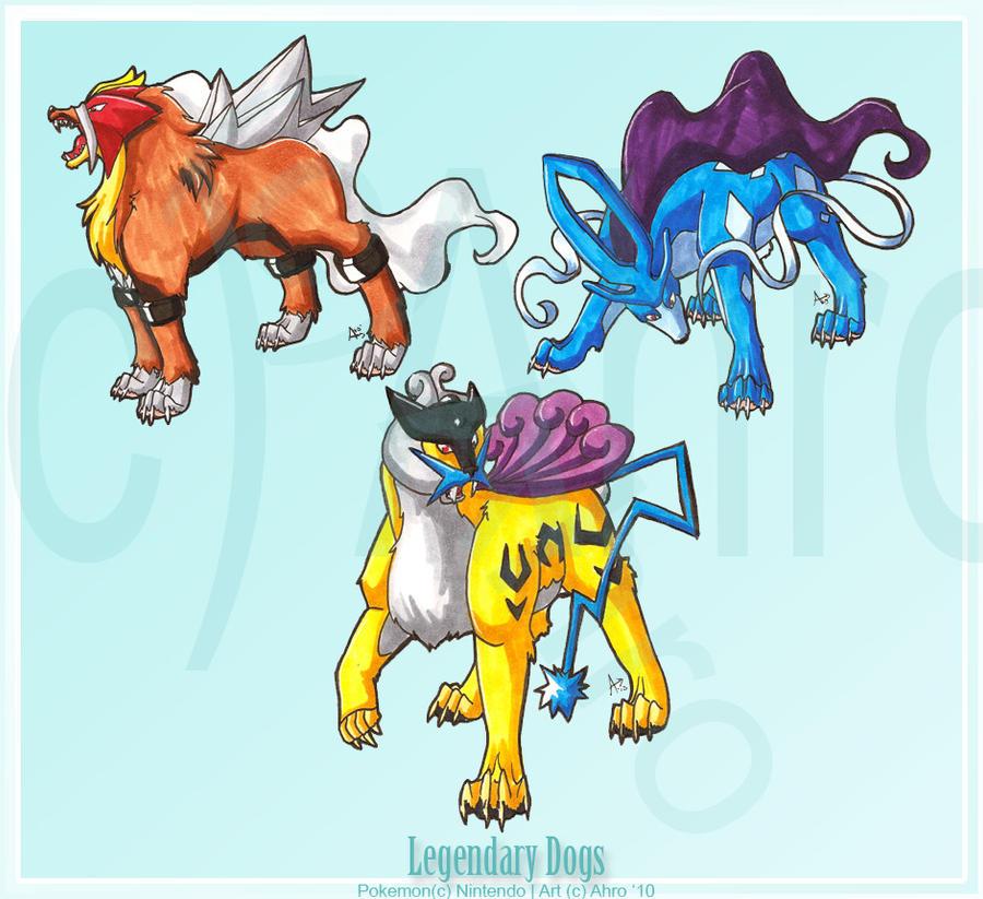 Legendary Dogs by Ahr0 on DeviantArt