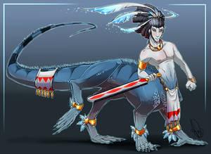 Original - Iquanataur Warrior