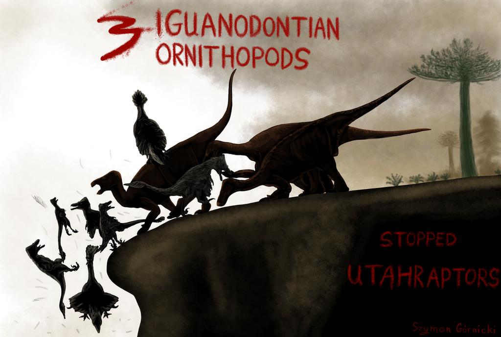 3 Iguanodontian ornithopods The Utahraptor Project by Szymoonio