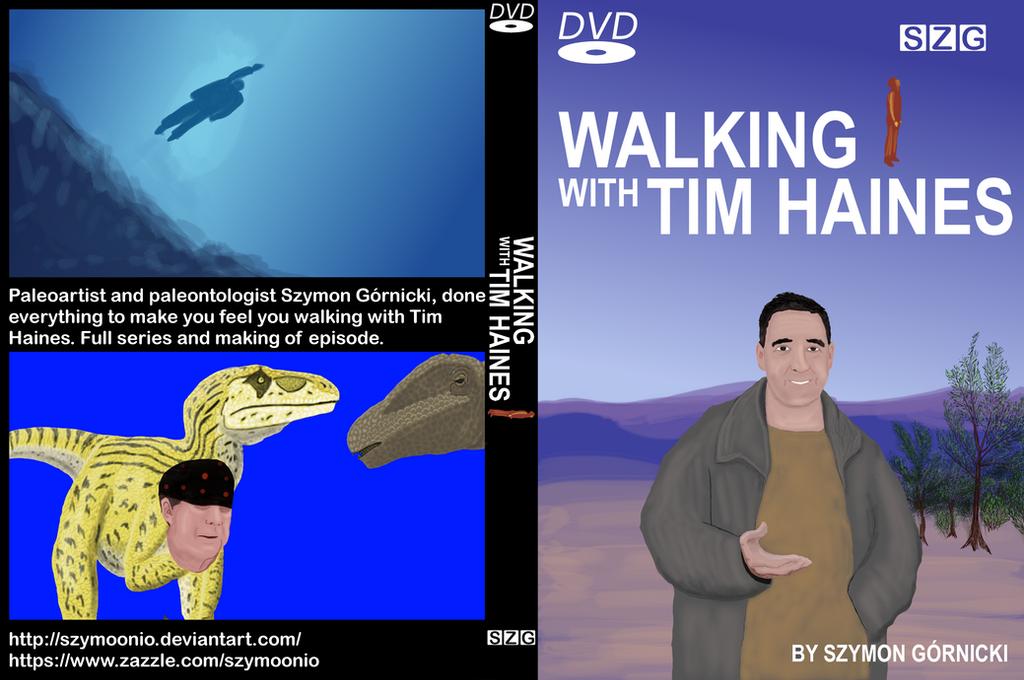 Tim Haines portrait Walking with Tim Haines by Szymoonio