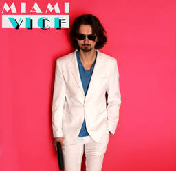 Miami Vice Poster Cosplay