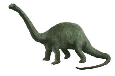 Brontosaurus from The Lost World (1925)