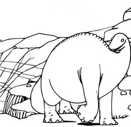 Restoration of image from Gertie the Dinosaur 1914