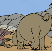 Colored Gertie the Dinosaur 1914