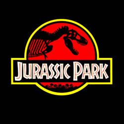 Scientifically accurate Jurassic Park logo