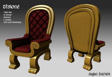 Throne by SaganTucker