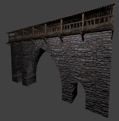 Castle Wall 01 by SaganTucker