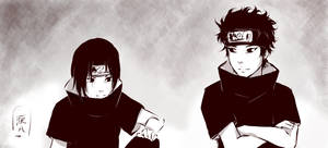 Itachi and Shisui - Meeting
