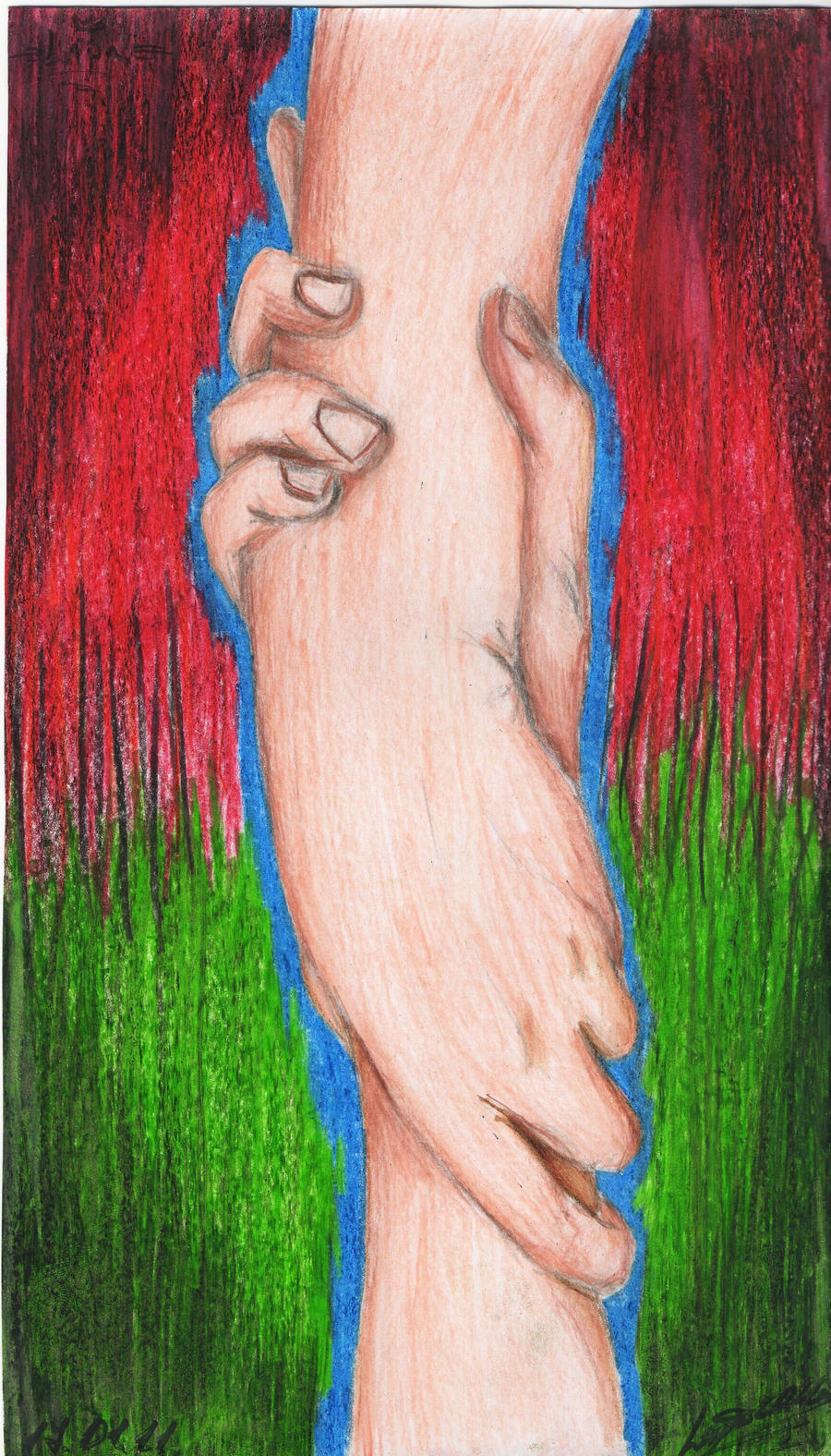 hands by Lapapolnoch