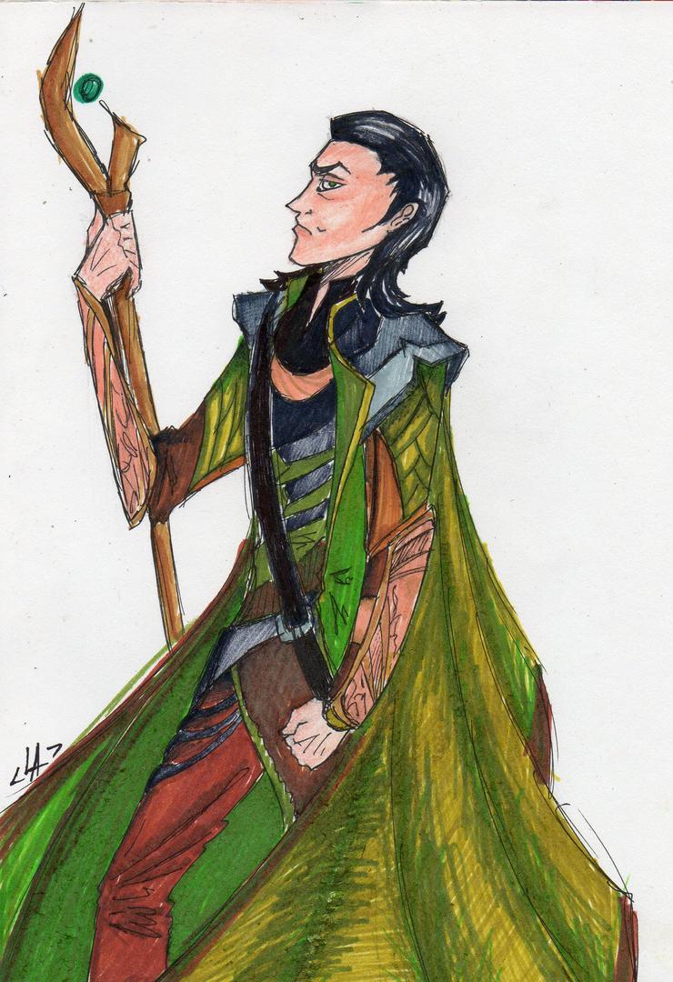 Loki by Lapapolnoch