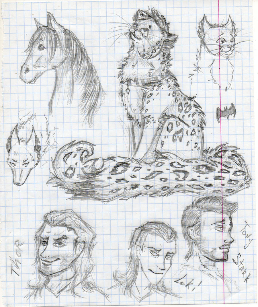 Sketch by Lapapolnoch