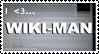 I Heart Wiki Man Stamp by Eisoptrophobic