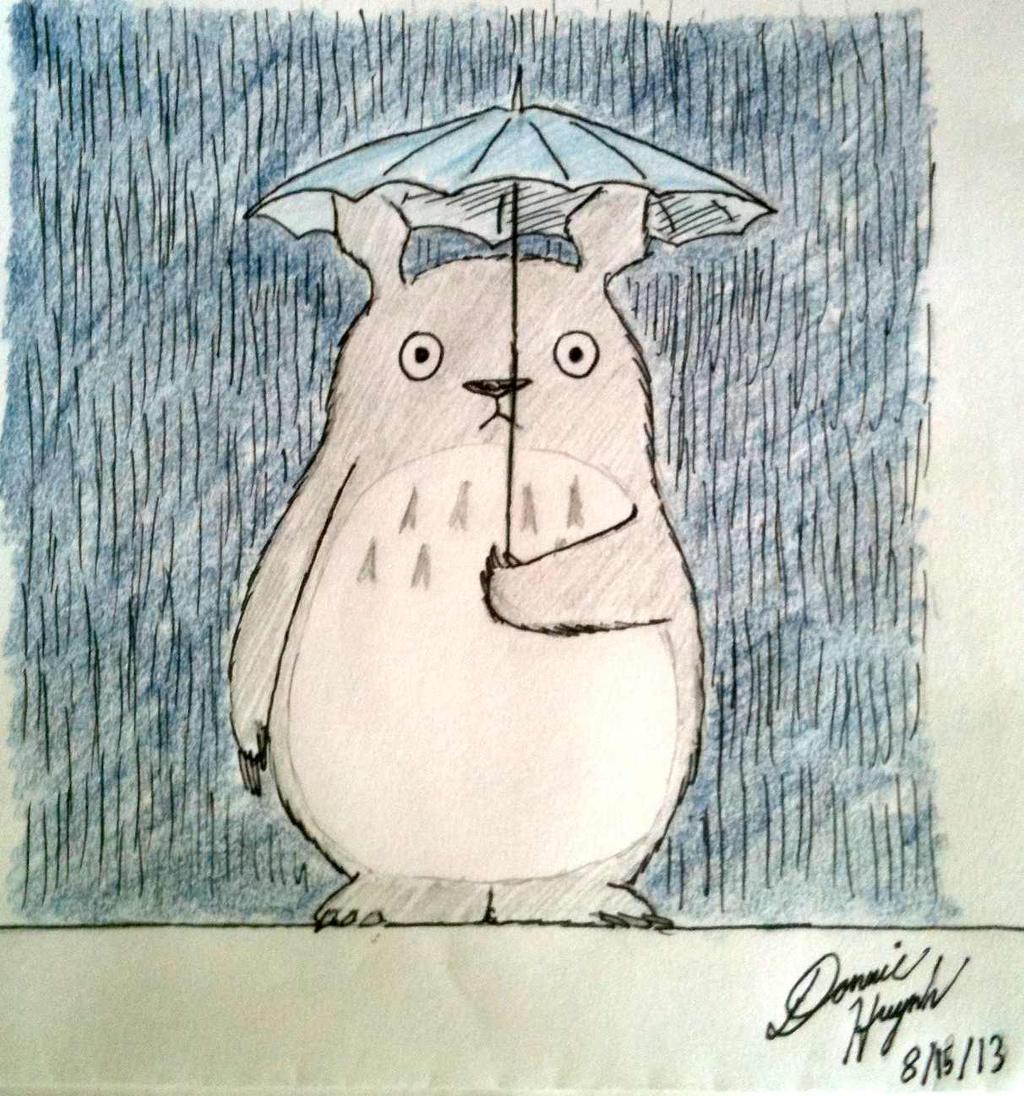Totoro by Donnietu