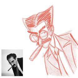 Groucho Marx Sketch