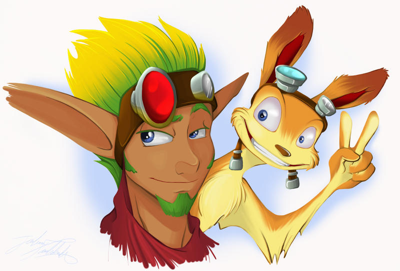 Jak and Daxter by Thats-Your-Funeral