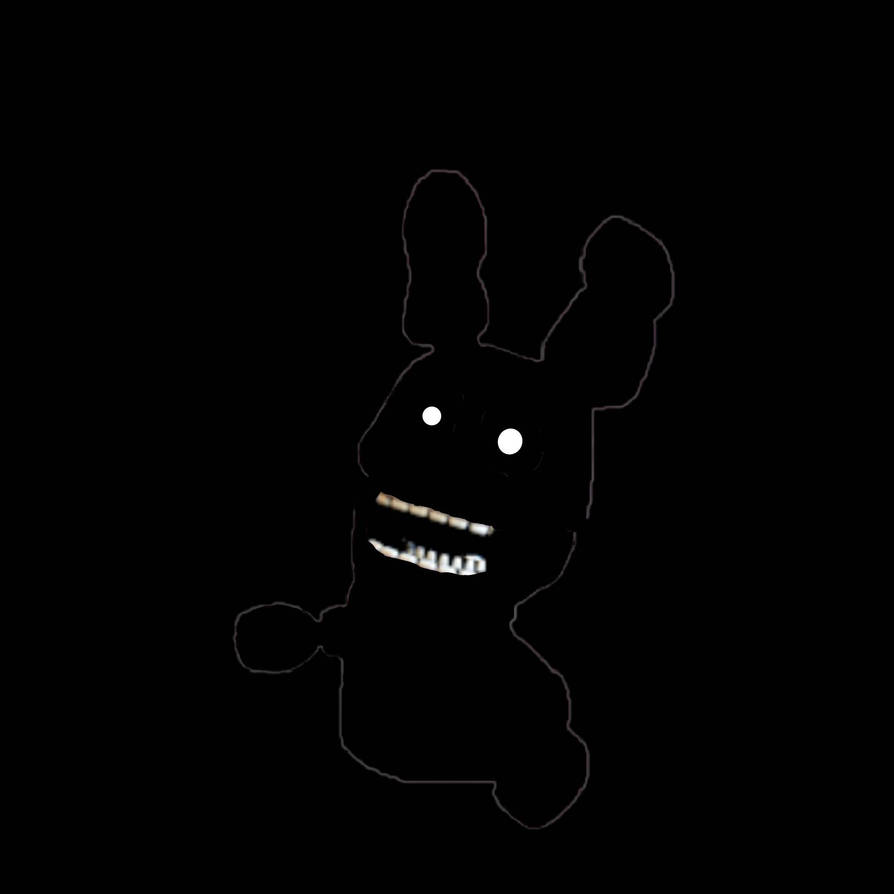 Shadow Bonnie puppet (Fnaf speed edit) by WatermelonFoxy on