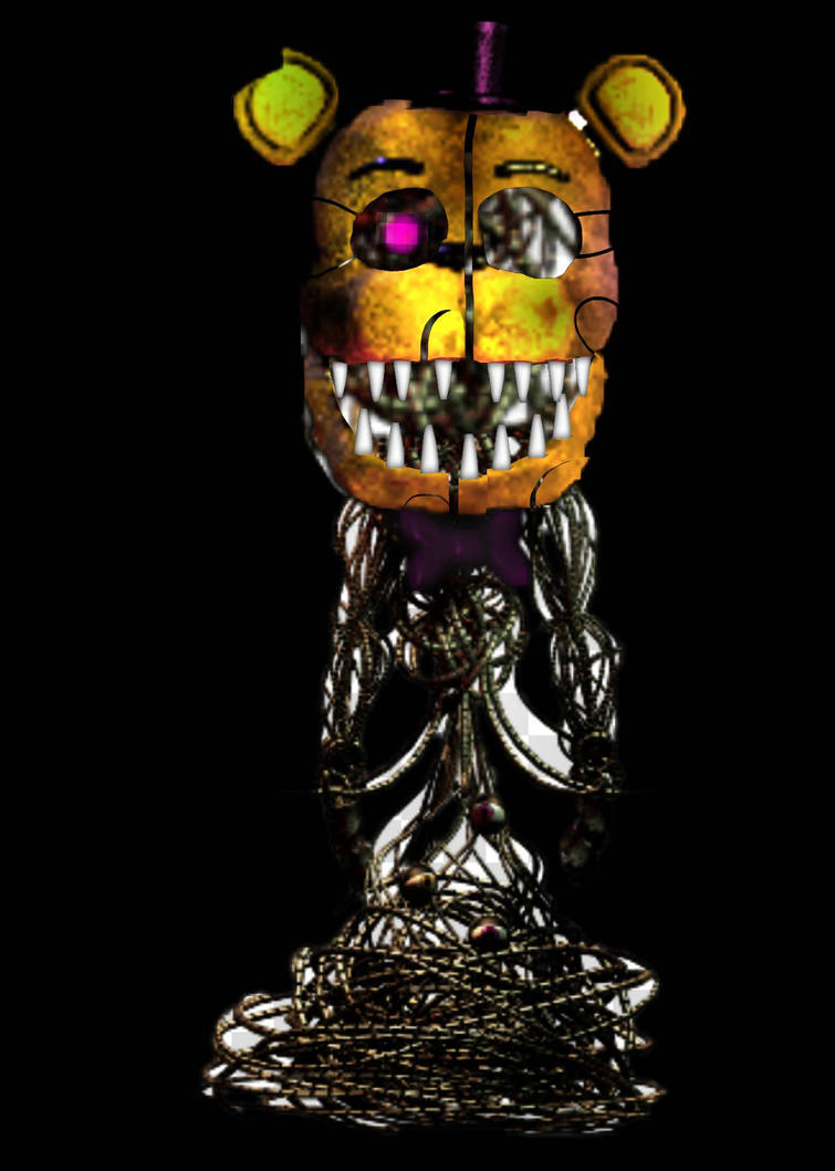 Fnaf SpeedEdit Molten Fredbear by WatermelonFoxy on DeviantArt