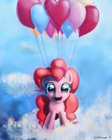 Pinkie Pie in the Sky by porkchopsammie