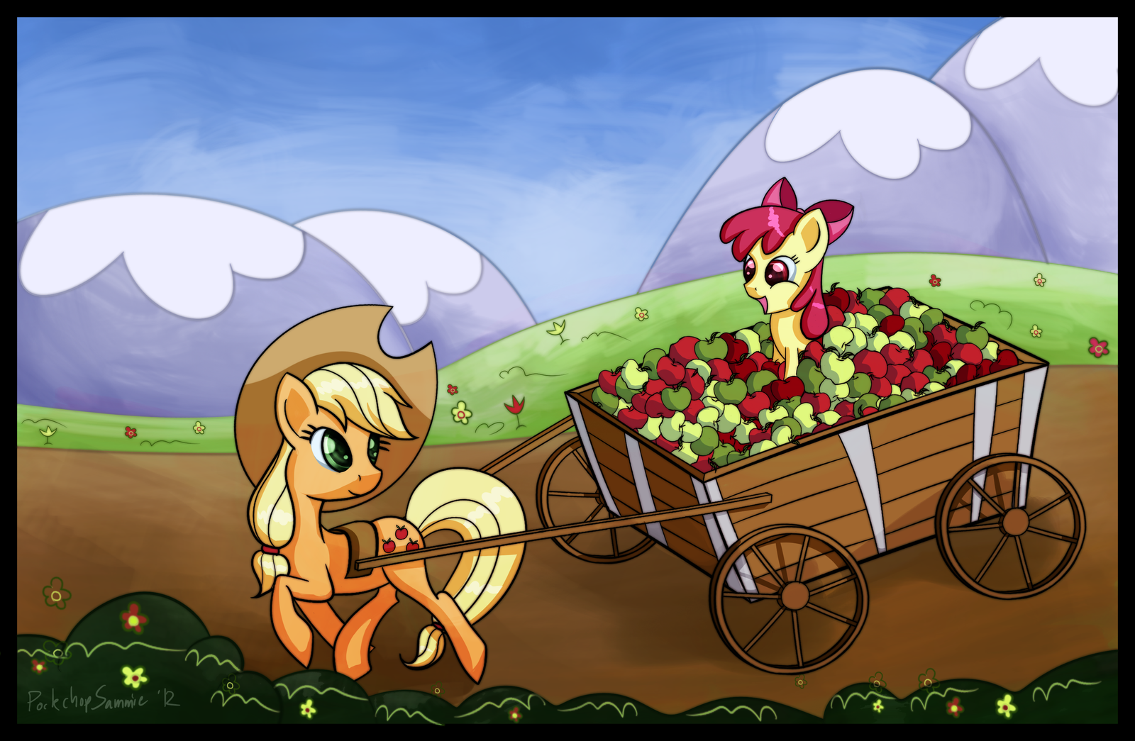 Idyllic Afternoon by porkchopsammie