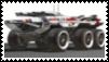 Mass Effect Mako Stamp by RebelATS