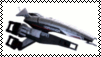 Mass Effect Normandy Stamp by RebelATS