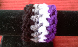 Asexual Pride Wristband