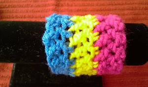 Pansexual Pride Wristband