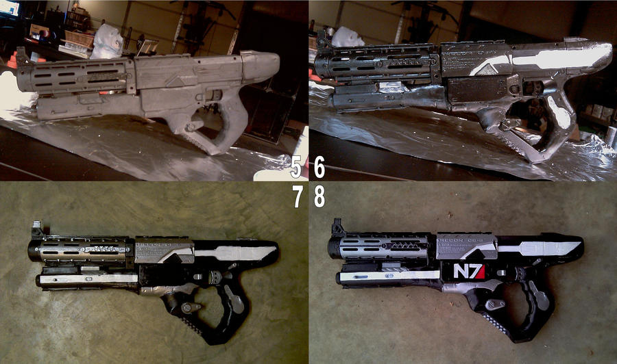 Commander Shepard Cosplay WIP2 by RebelATS