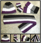 Asexual Pride Mix and Match Accessories