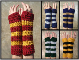 Harry Potter Armwarmers by RebelATS