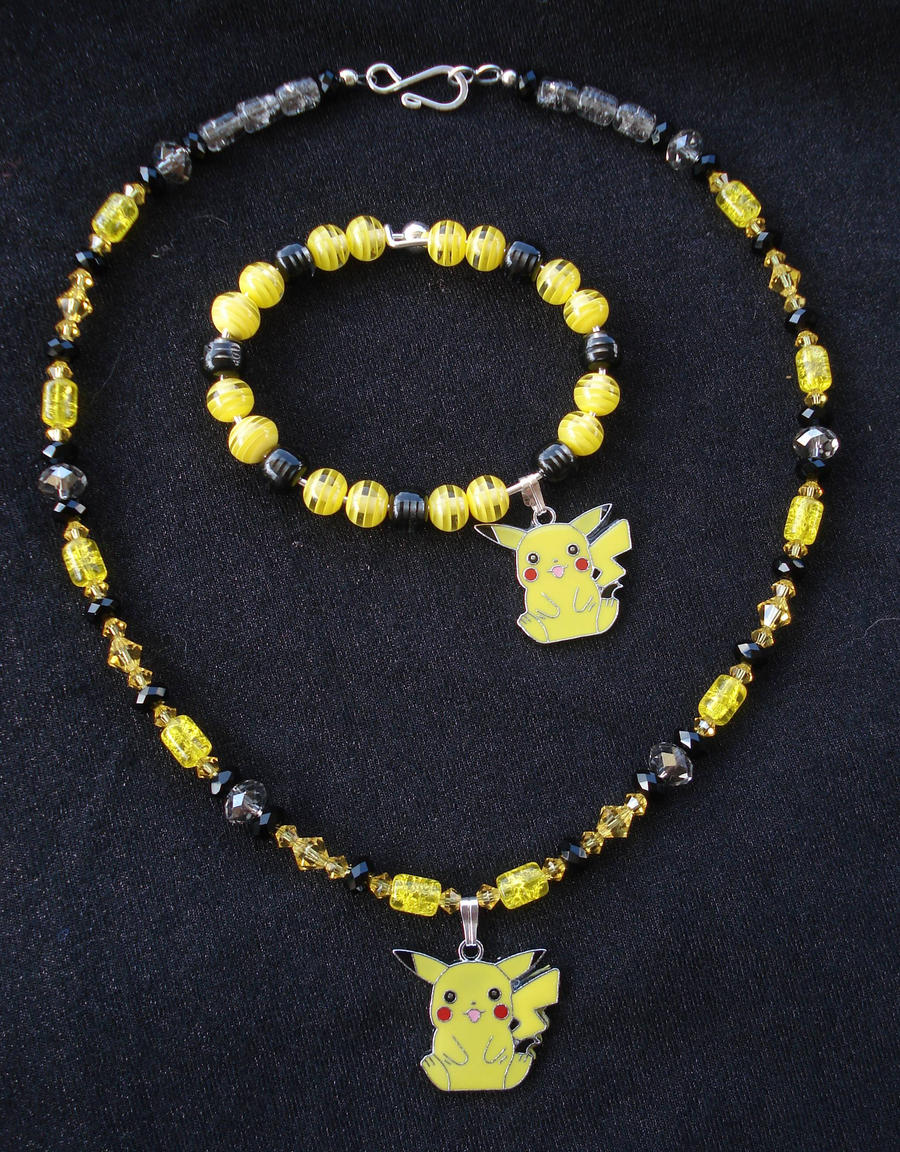 Pokemon Pikachu Jewelry by RebelATS