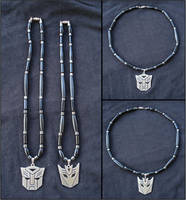 Transformers Autobots and Decepticons Necklace - 1
