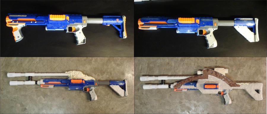 Mass Effect M-92 Mantis WIP 1-4 by RebelATS