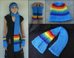 MLP Rainbow Dash Winter Pony Set
