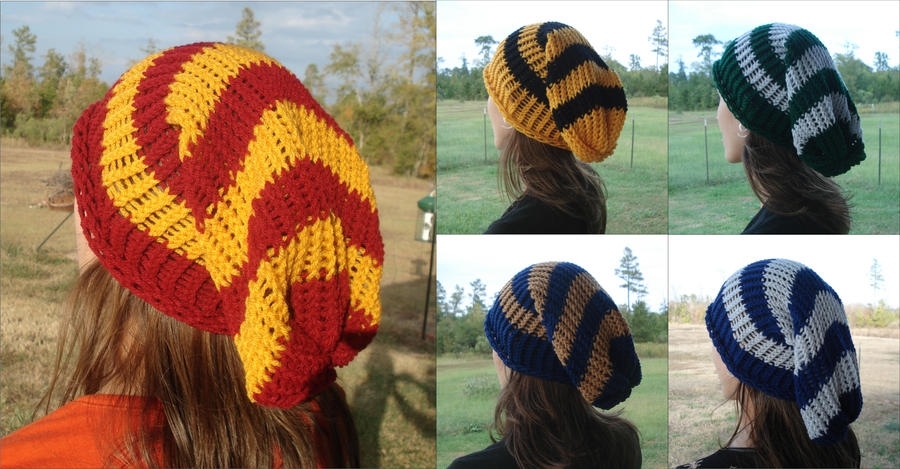 Harry Potter Slouchy Beanies by RebelATS