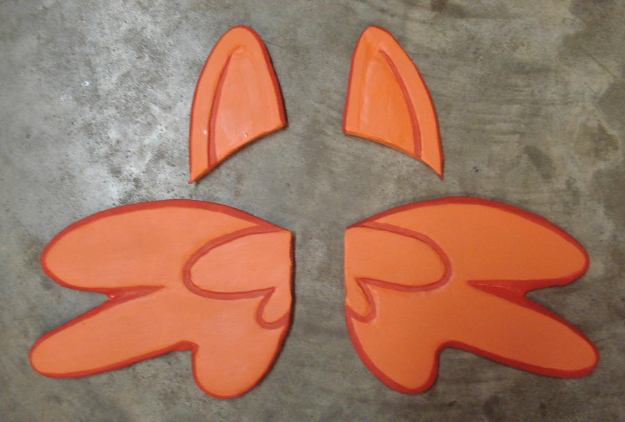 mlp scootaloo ears and wings by rebelats on deviantart