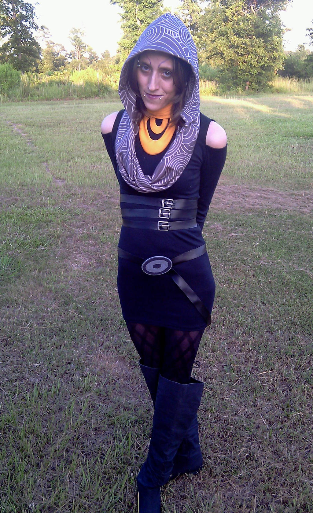 Tali'Zorah vas Normandy Dress by RebelATS