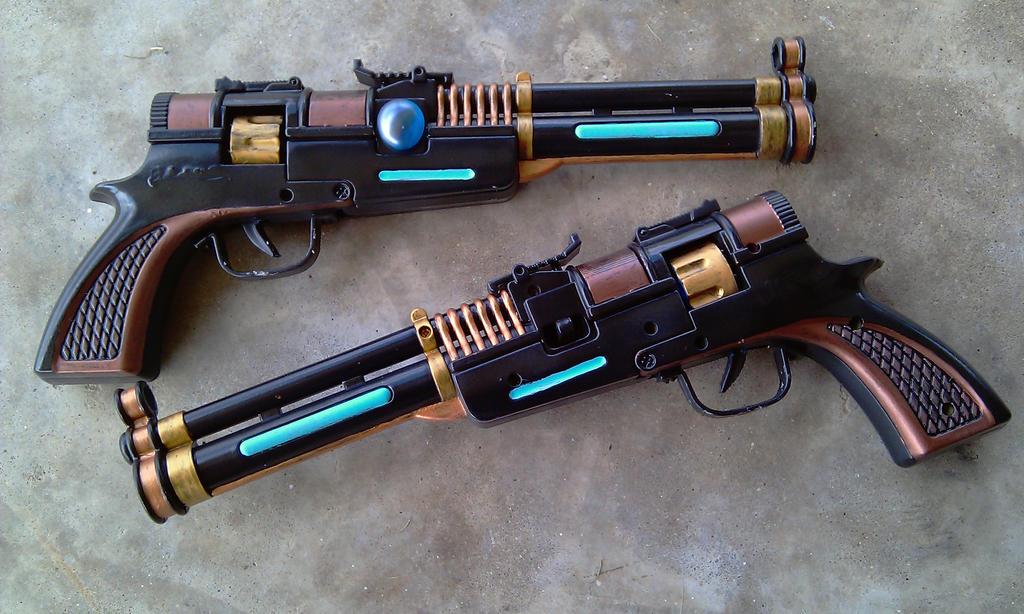 SWTOR Smuggler Blaster Pistols by RebelATS