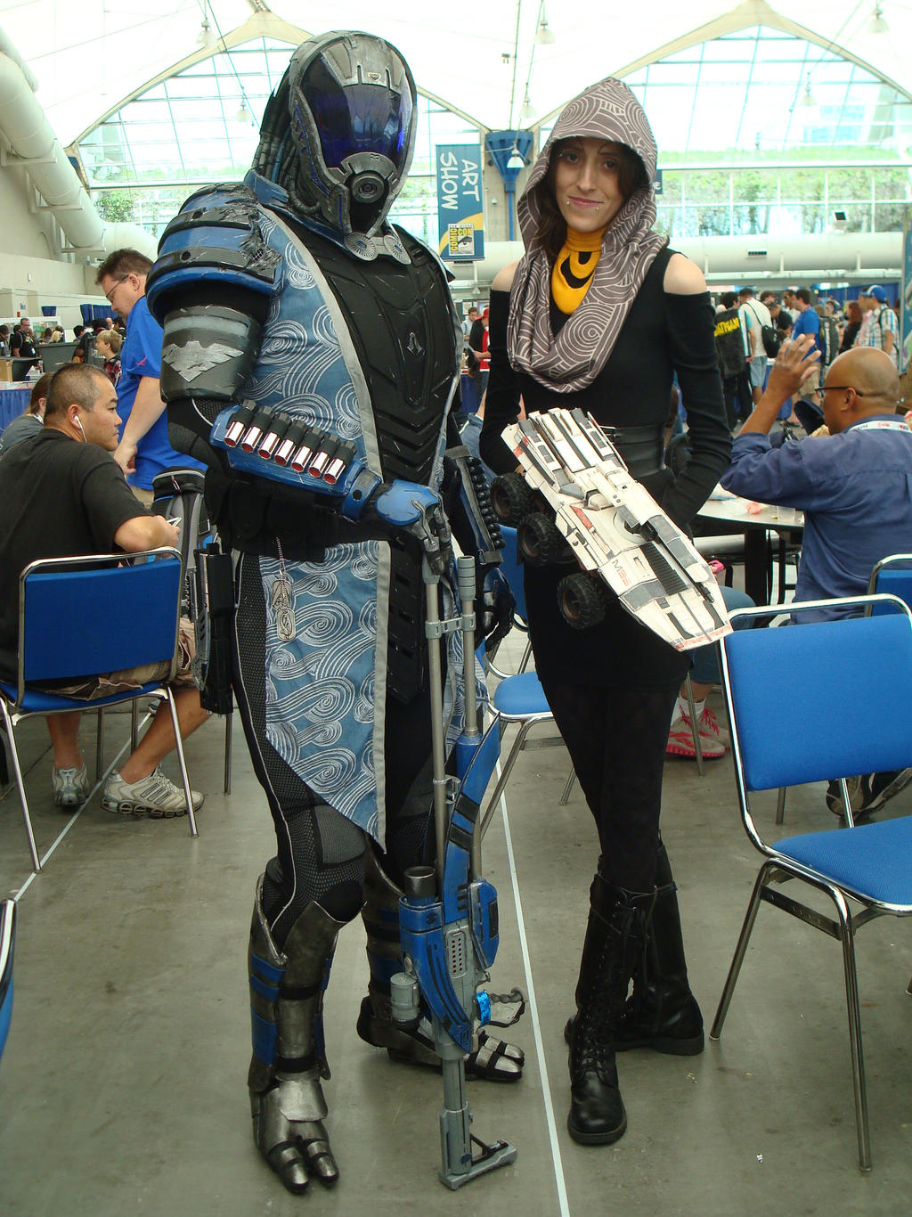 SDCC 2013 - Mass Effect - Tallus and Tali by RebelATS