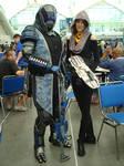 SDCC 2013 - Mass Effect - Tallus and Tali