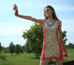 Iron Man Dress - 1 by RebelATS