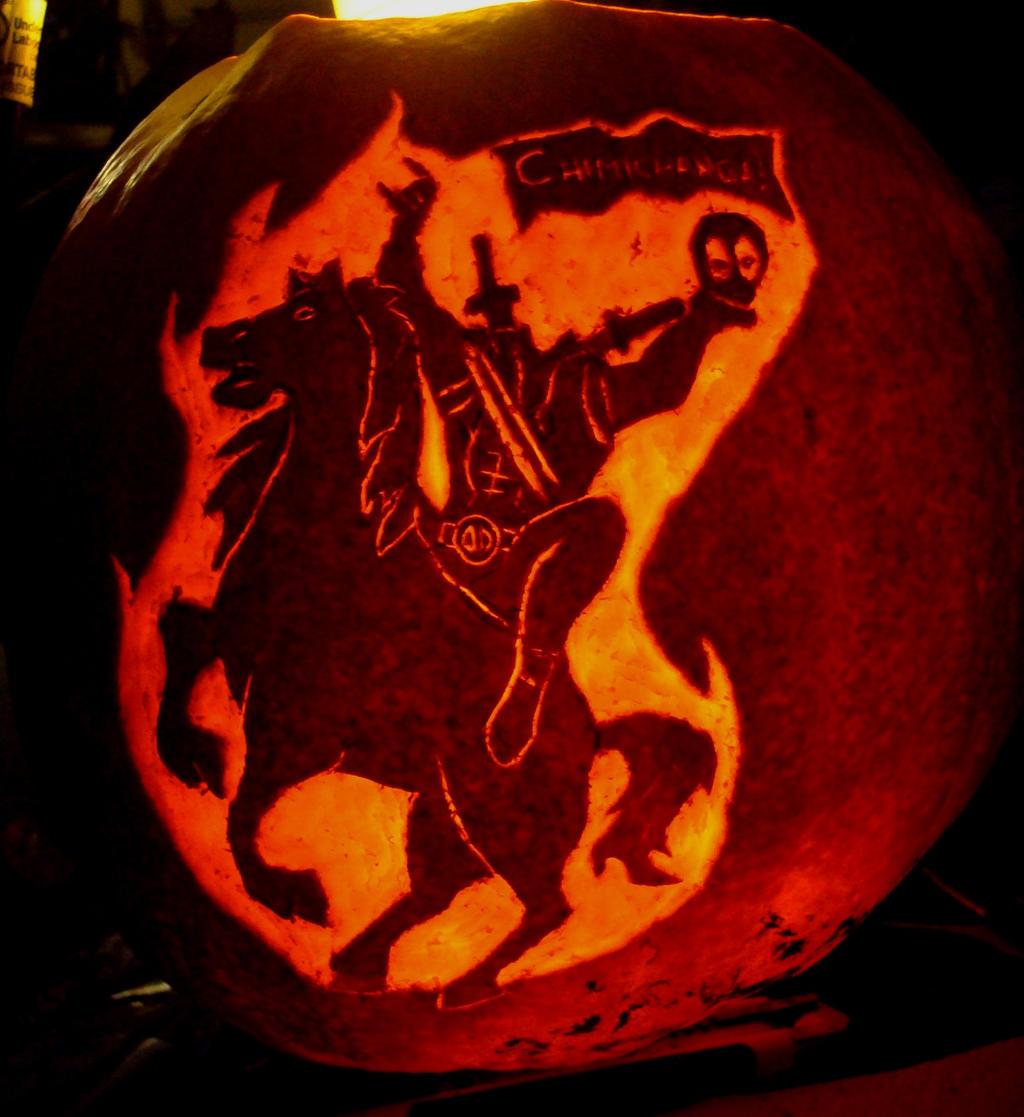 Headless Deadpool Horseman by RebelATS