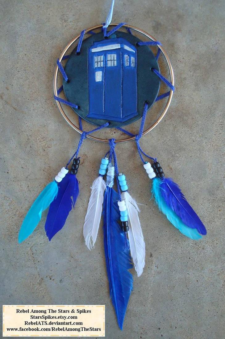 TARDIS Dream Catcher 2 by RebelATS